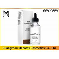 Buy cheap Skin Smoothing EGF Face Serum Powerful Peptides Reduce Scars Burns Dark Spots from wholesalers
