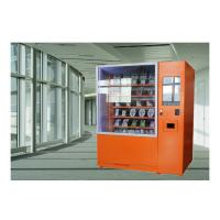 Buy cheap Fresh Fruit Salad Food Vending Machine , Conveyor Belt Vending Machine With Lift from wholesalers
