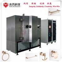 Buy cheap Rose Gold Thin Film Deposition Systems For Wall Mounted Brass Bathroom Accessories from wholesalers