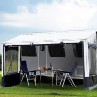Buy cheap Motor travel trailer awning / caravan canopy awning with Fiberglass Pole from wholesalers