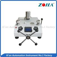 Buy cheap Piston Type Pressure Gauge Calibration Equipment For Measurement Room from wholesalers
