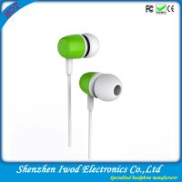 Buy cheap Hot fashion design stereo headphone buy plastic earphones china with brand quality from wholesalers