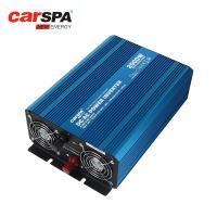 Buy cheap 2000W Safe Pure Sine Wave Power Inverter DC 24V To 220V AC Light Blue Edition from wholesalers
