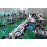 Buy cheap Bottle Packing Line Industrial Belt Conveyors / Chain Conveyor for Beverage Plant from wholesalers