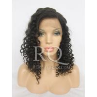 Buy cheap Full Lace Wig/Human Hair Wig/Brazilian Virgin/Unprocessed Deep Wave from wholesalers