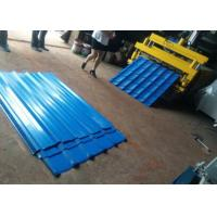 Glazed Tile IBR Double Layer Forming Machine 5.5kw Fit Construction Metal Steel