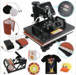 Buy cheap Cheap Multifunctional T-shirt Mug Printing Heat Press Machine 8 in 1 from wholesalers