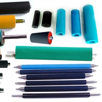 China Professional molded silicone rubber roller for printing machine factory heat -resistant closed cell silicone rubber roll on sale