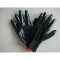 Buy cheap Green Blue Black Cut Resistant Work Gloves Nitrile Industrial Gloves from wholesalers