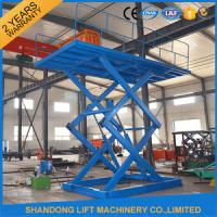 Buy cheap 5 ton 5M Constraction Stationary Scissor Lift Table 380v / 2.2kw or 220v from wholesalers