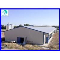 Buy cheap cheap prefab poultry house steel structure chicken house from wholesalers