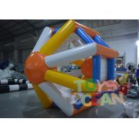 Buy cheap Floating Inflatable Water Game Inflatable Hamster Wheel Water Roller from wholesalers