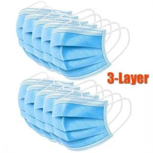 Buy cheap Breathable 3 Ply Non Woven Face Mask product