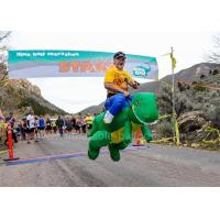 Buy cheap Walking Inflatable Man Costume Green Large Inflatable Dinosaur Costume from wholesalers