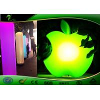 Buy cheap Green Inflatable Lighting Decoration Big LED Apple Model Damp Proof from wholesalers
