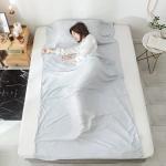 Buy cheap 100 Silk Sleeping Bag Liner , Dirt Proof Sleeping Bag Inner Sheet from wholesalers