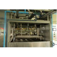 PLC Control Reciprocate Paper Pulp Molding Machine With Single Layer Dryer