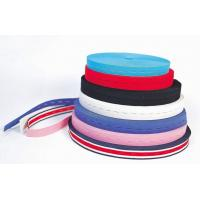 Buy cheap factory supply differnet pattern fabric knitted fluff elastic strap from wholesalers