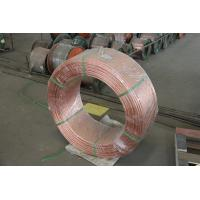 Buy cheap ASTM B228 Copper Clad Steel Wire for Grounding Purpose from wholesalers