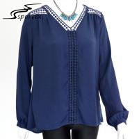 Buy cheap Long Sleeve Women's Plus Size Blouses Stylish Clothing For Spring / Summer from wholesalers