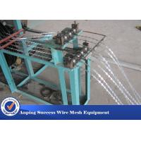 Buy cheap Professional Razor Wire Machine 1100MMX1000MMX1700MM Easy Maintenance from wholesalers