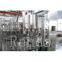 Buy cheap Soft Drink Beverage Carbonated Drink Filling Machine Cola Glass Bottle Washing / Filling / Capping from wholesalers