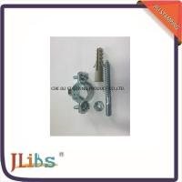 Buy cheap DIN 4109 Carbon Steel Pipe Clamp Fittings With Electro Zinc Plated from wholesalers