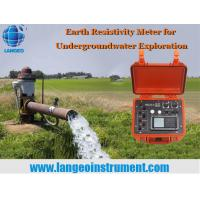 Buy cheap LANGEO WDDS-3 Geophysical Earth D.C Resistivity Meter from wholesalers