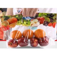 Buy cheap Food Grade Fresh Fruit Bags , Ziplock Stand Up Pouches With Hand Hole from wholesalers