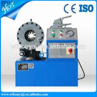 Buy cheap hydraulic hose crimping machine from wholesalers