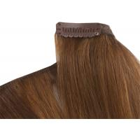 Buy cheap Pre - Bonded Clipping In Hair Extensions Full Head Real Human Hair from wholesalers
