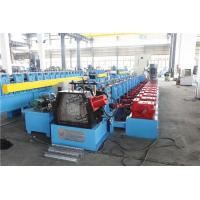 Buy cheap Upright Sheet Metal Forming Machine , Gutter Roll Forming Machine Gear Box from wholesalers