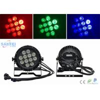 Buy cheap Ip65 Par 64 Led Lights 12*10w Rgbw Color Mixing Ac100 - 240v from wholesalers