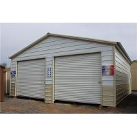 Buy cheap prefabricated insulation steel storage garage for car and tools from wholesalers