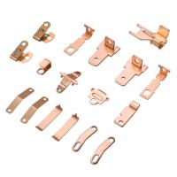 Buy cheap Custom Precision Brass Copper Stamping Terminals OEM Stamping from wholesalers