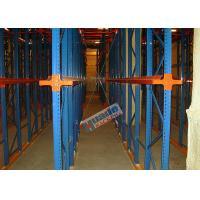 Heavy Load Drive In Racking , Galvanised Pallet Racking Storage Drive Through Racks