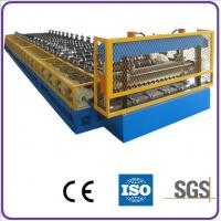Buy cheap High Speed Steel Corrugated Roof Roll Forming Machine 18 Stations for Factory from wholesalers