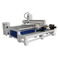 Buy cheap Removable  4 Axis 1325 Woodworking  CNC Engraving Machine with Dia 300 Rotary Axis Holder product