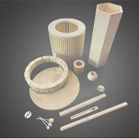 Buy cheap Customizable alumina industrial ceramic with 99.5% content,Various types,yellow from wholesalers