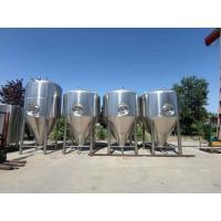 Buy cheap 3000L 4000L 5000L beer fermentation tank for large beer brewery equipment brew system from wholesalers