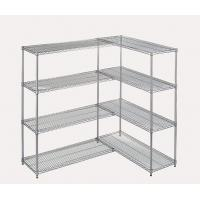Buy cheap Large Capacity Chrome Plated Commercial Wire Shelving Unit Add On Kit In Food Store from wholesalers