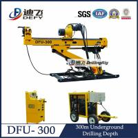 Buy cheap Manufacturer of DFU-300 Horizontal Core Drilling Machine for Gold and Coal Factory Price from wholesalers