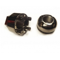 Buy cheap Patent stainless steel anti theft nuts security bolts and nuts auto spare parts from wholesalers