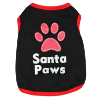 Buy cheap Black Comfortable Polyester Sleeveless Cute Dog Shirts from wholesalers