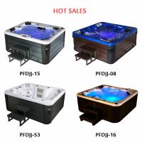 Buy cheap Freestanding Outdoor Whirlpool Tub 6 Person Air Massage For Winter Cold Spa from wholesalers