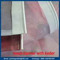 Buy cheap Keder Edging PVC Vinyl Flex Display Banner from wholesalers