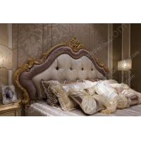 Buy cheap 2015 New Design Dubai Furniture Classic Gold Hand Carved King Bed  FB-168 from wholesalers