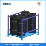 Buy cheap Warehouse Folding Steel Stillage Stackable Rack, metal storage rack, foldable steel rack from wholesalers