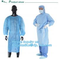 Buy cheap Sterile blister packing for SMS/PP surgeon Gown,  Protective Sterile Hospital Disposable Medical, Nonwoven Medical Clot from wholesalers