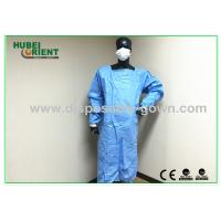Buy cheap Anti Permeate Soft Disposable Surgical Gowns For Hospitals Latex Free from wholesalers